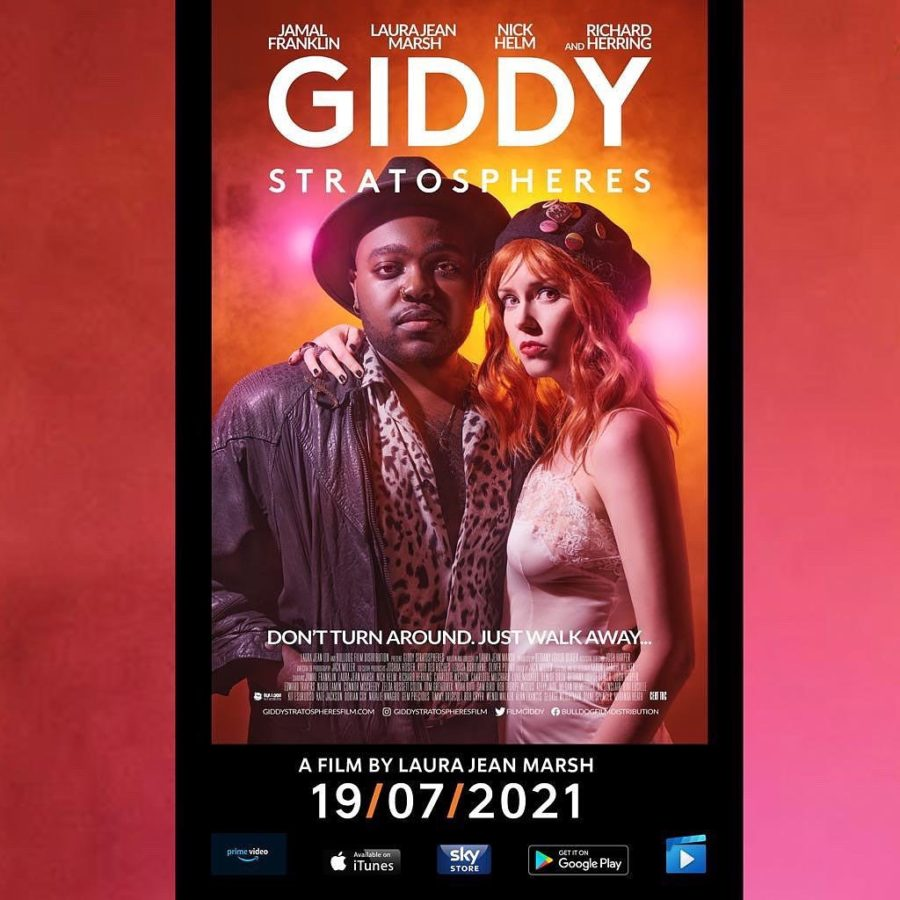 Charlotte Milchard - Giddy Stratospheres poster